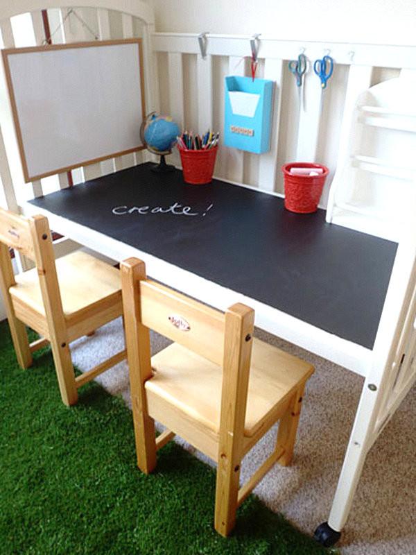 DIY Kids Desk Ideas  18 DIY Desks to Enhance Your Home fice