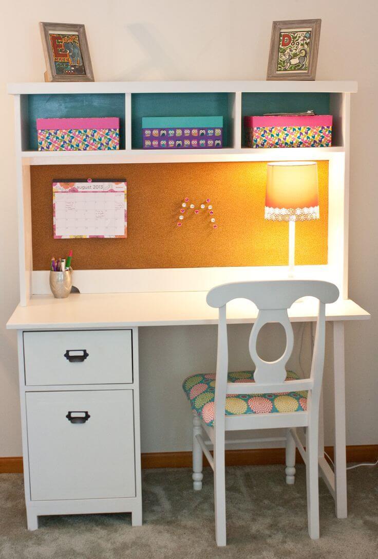 DIY Kids Desk Ideas  23 DIY puter Desk Ideas That Make More Spirit Work