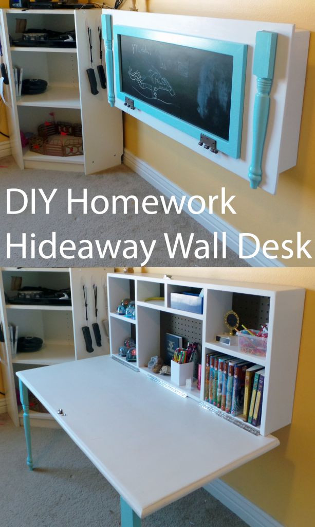 DIY Kids Desk Ideas  8 Small Desks And Art Center Ideas For Kids And Small Homes