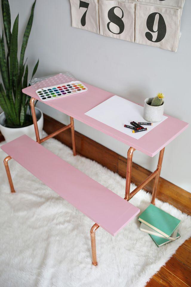 DIY Kids Desk Ideas  10 DIY Kids' Desks For Art Craft And Studying Shelterness