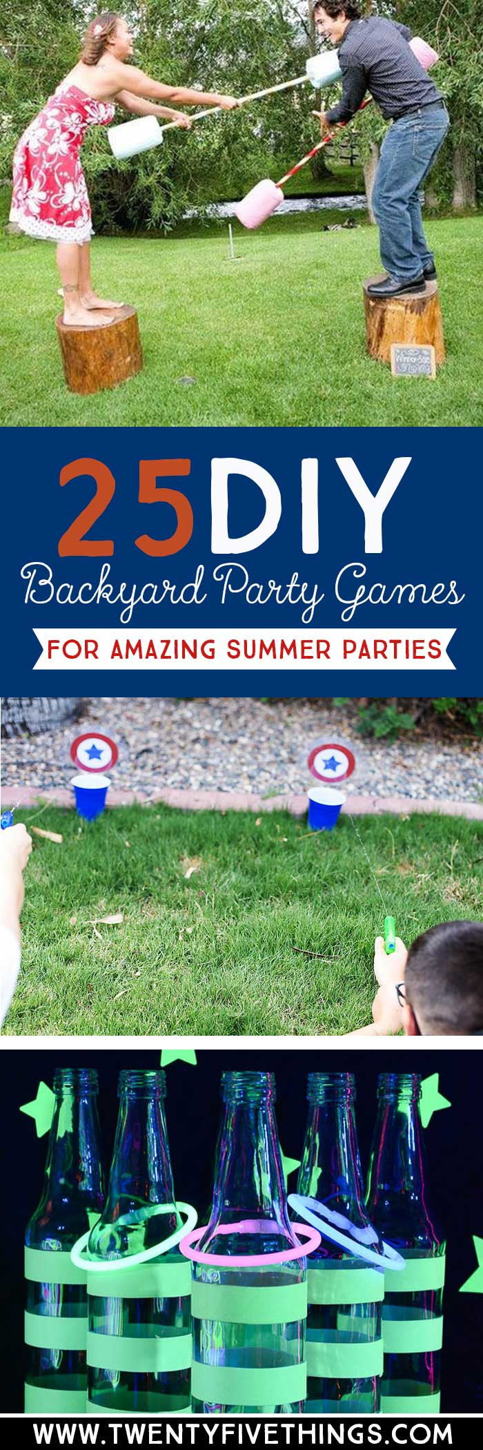 DIY Kids Party Games  25 DIY Backyard Party Games for the Best Summer Party Ever