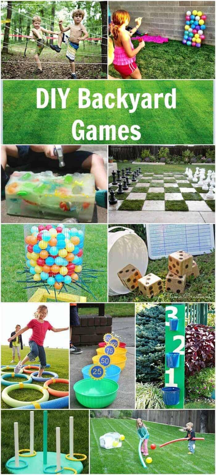 DIY Kids Party Games  Easy DIY Backyard Games Page 2 of 2 Princess Pinky Girl