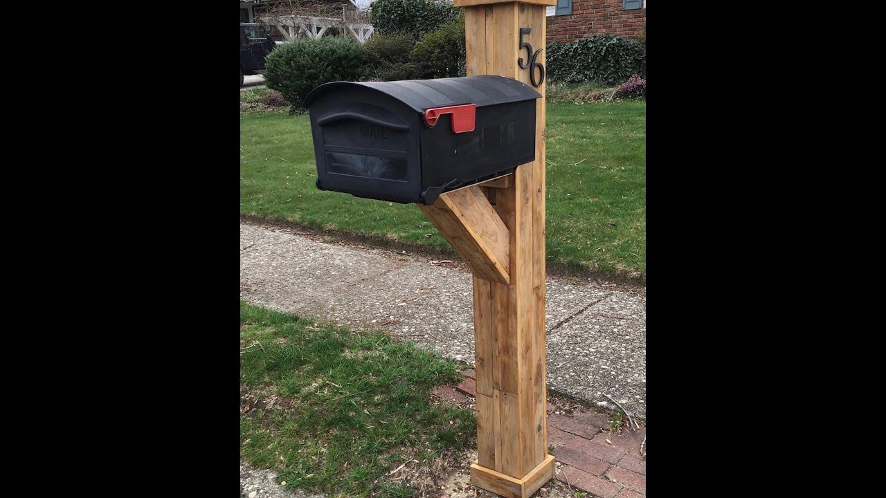 DIY Mailbox Post  DIY Mailbox Post