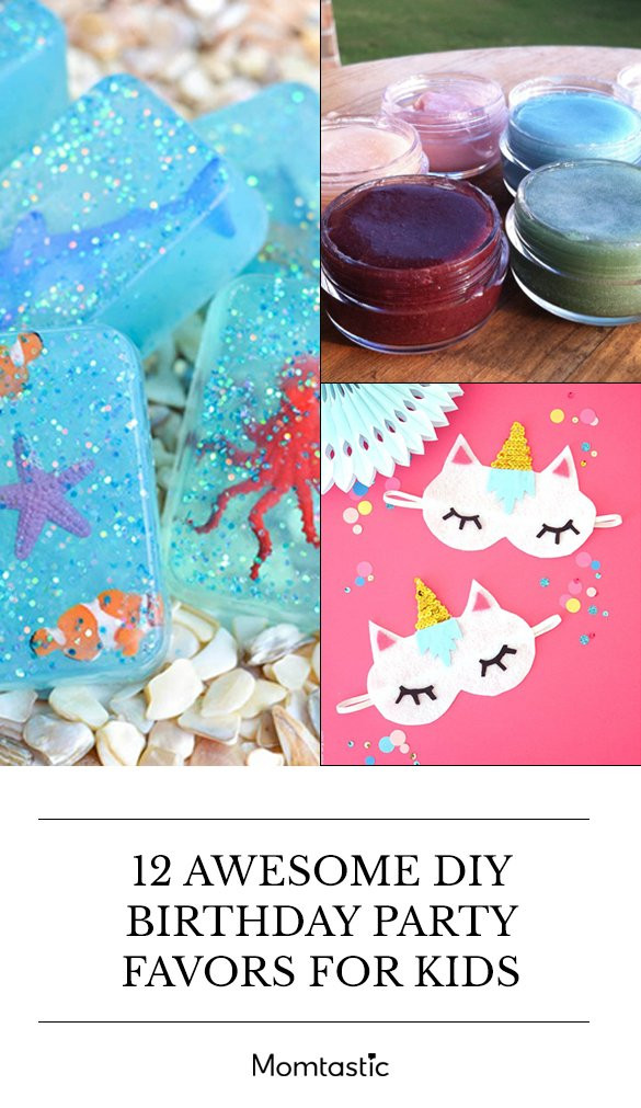 DIY Party Favors For Kids  12 Awesome DIY Birthday Party Favors For Kids