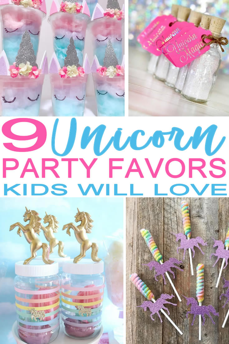 DIY Party Favors For Kids  9 Magical Unicorn Party Favors Kids Will Actually Want