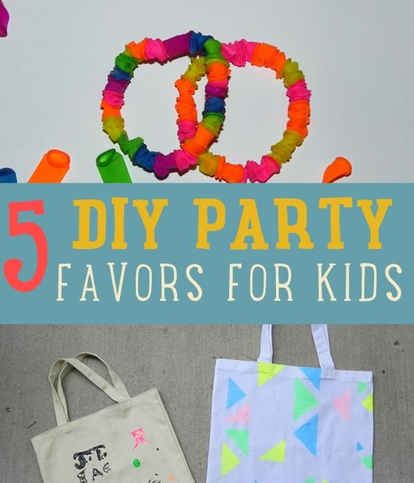 DIY Party Favors For Kids  DIY Party Favor Craft Ideas DIY Projects Craft Ideas & How