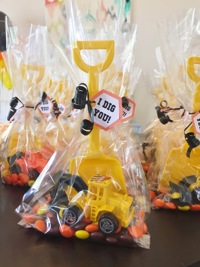 DIY Party Favors For Kids  Construction Themed Favors
