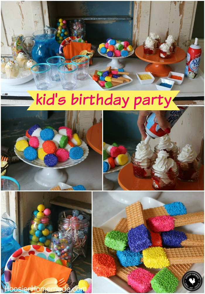 DIY Party Favors For Kids  Easy Kid s Birthday Party Ideas Hoosier Homemade