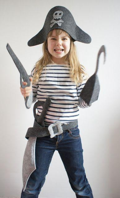 DIY Pirate Costumes For Kids  30 PIRATE COSTUMES FOR HALLOWEEN Godfather Style