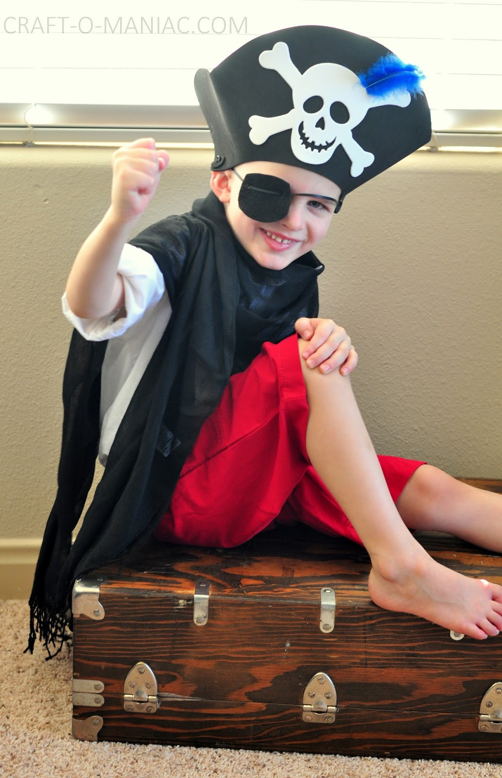 DIY Pirate Costumes For Kids  Kids Activity Dress Up Costumes Craft O Maniac