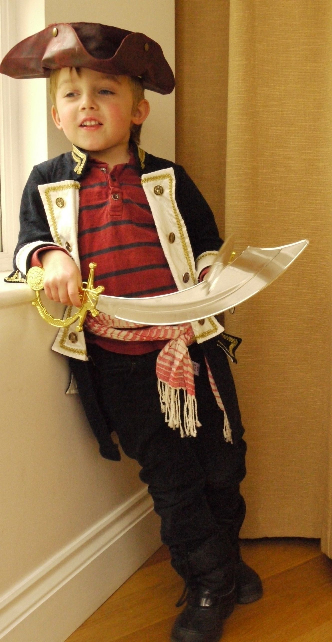 DIY Pirate Costumes For Kids  10 Attractive Homemade Pirate Costume Ideas For Kids 2019