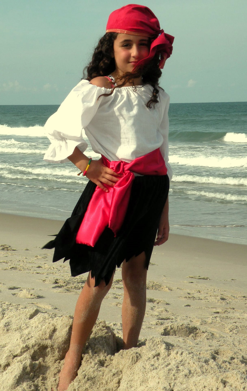 DIY Pirate Costumes For Kids  Child Pirate Pirates Girl Halloween Costume