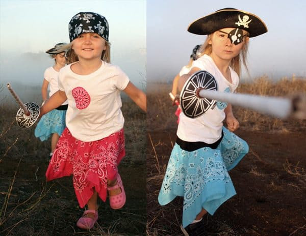 DIY Pirate Costumes For Kids  DIY Pirate Costumes for Kids