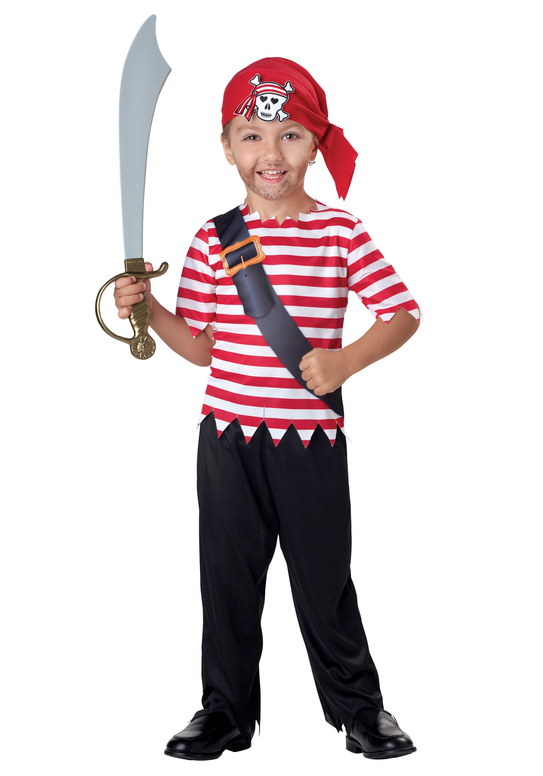 DIY Pirate Costumes For Kids  Toddler Pirate Costume