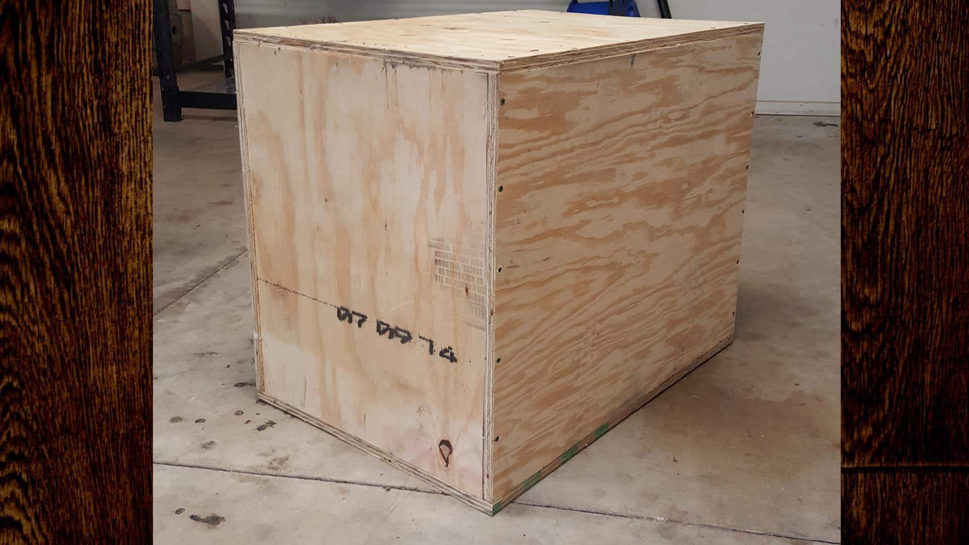 DIY Plyometric Box  How to Make a 3 in 1 Plyometric Box