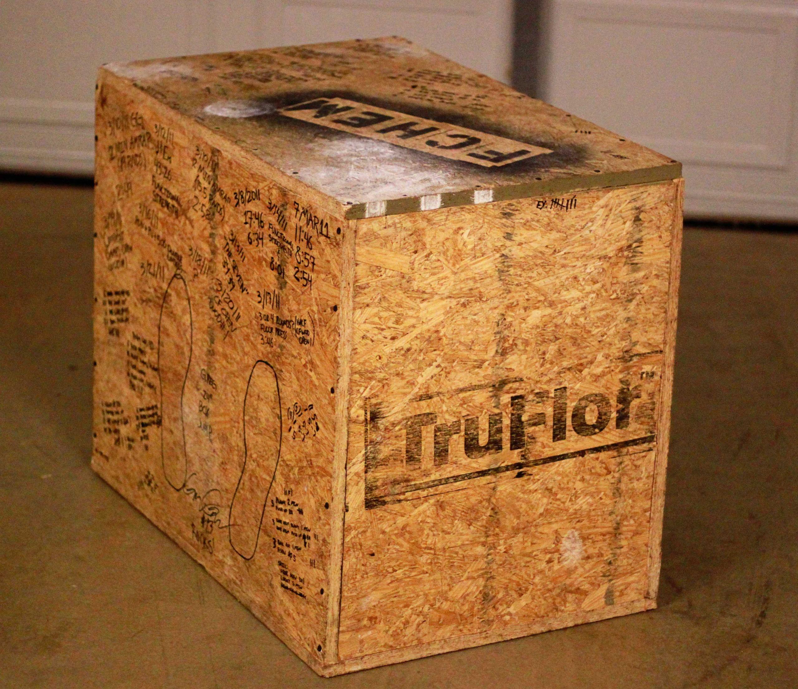 DIY Plyometric Box  How to Build a Plyometric Box End of Three Fitness
