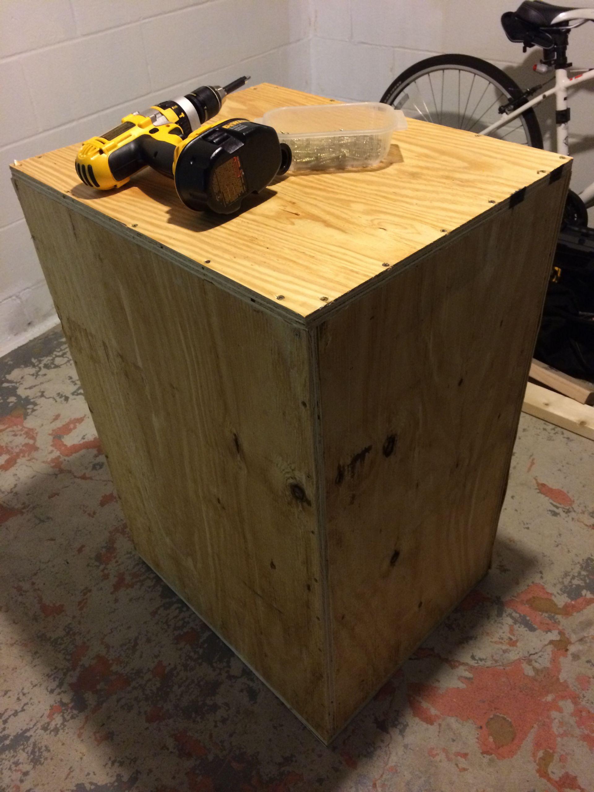 DIY Plyometric Box  How To DIY Plyo Box