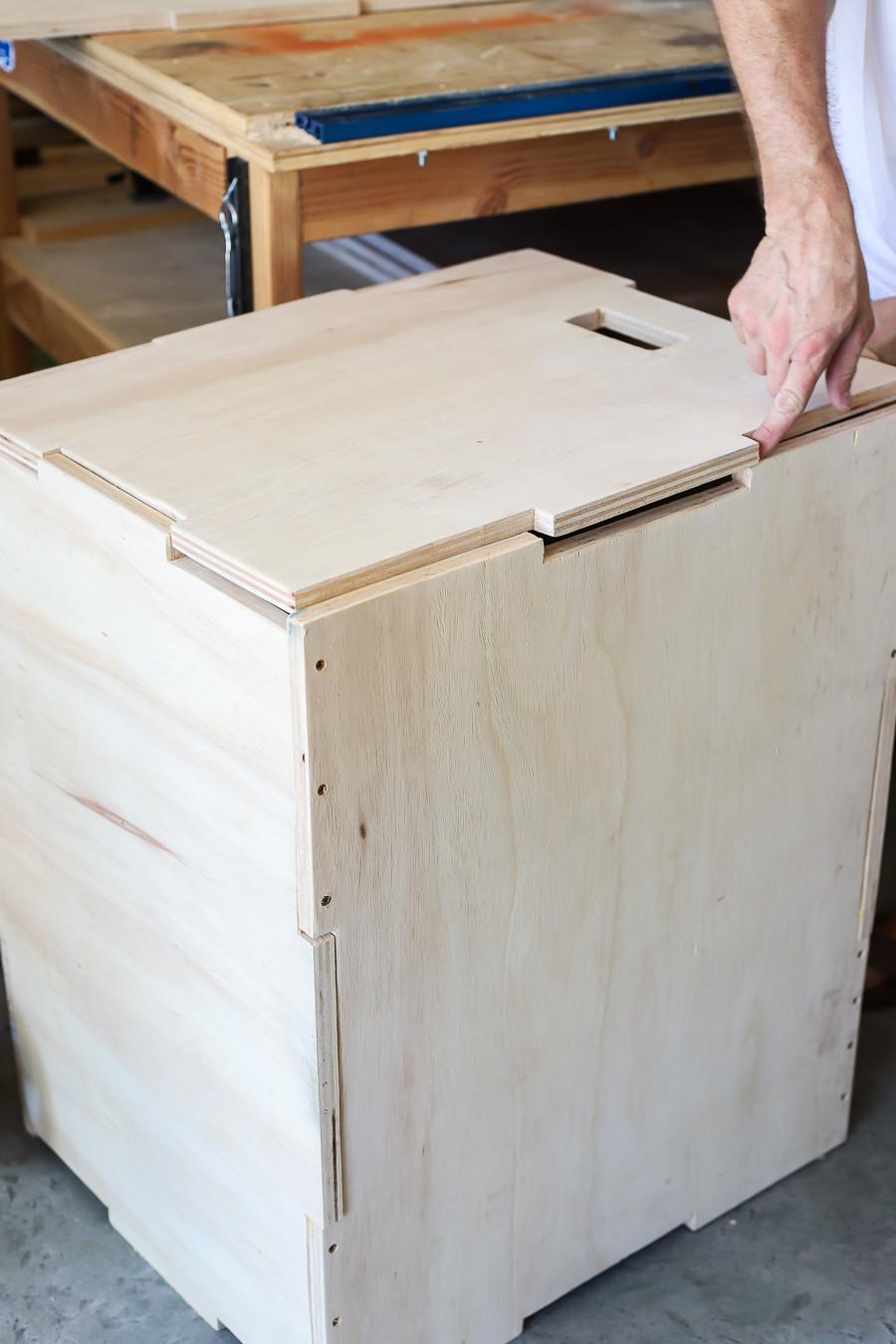 DIY Plyometric Box  Build a DIY 3 in 1 Plyometric Box for Box Jump Exercises