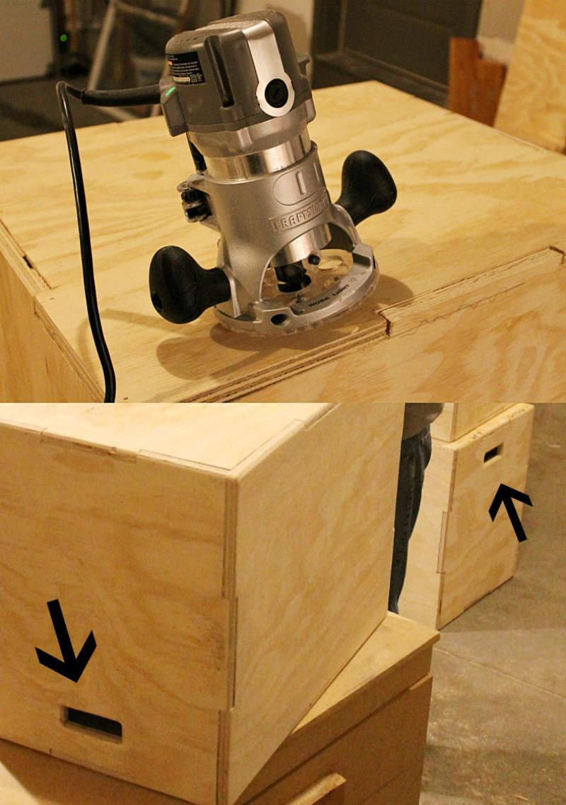 DIY Plyometric Box  DIY 3 in 1 WOOD PLYO BOX for $35 Fitness Tutorials