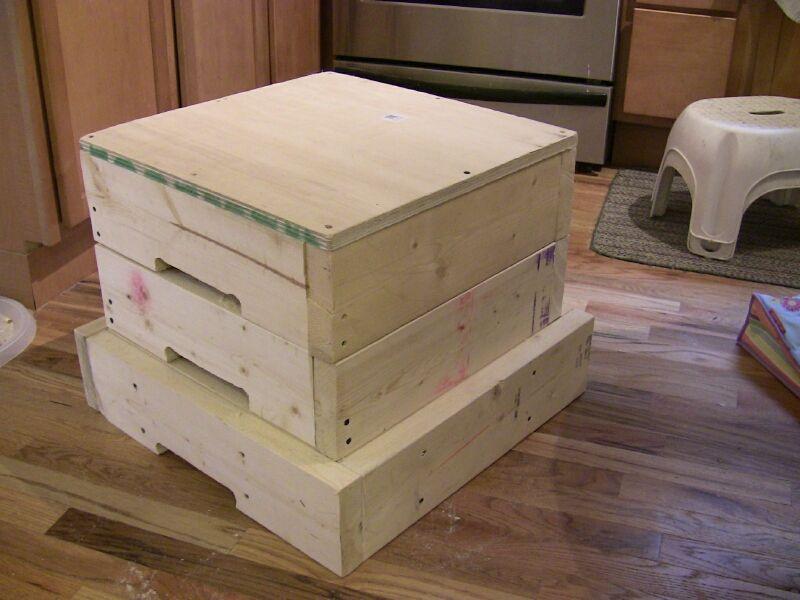 DIY Plyometric Box  Plyo box plans