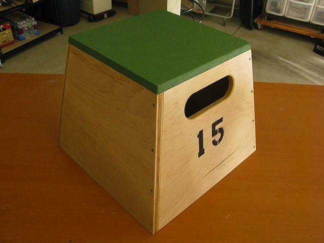 DIY Plyometric Box  DIY Gym Bob Vila