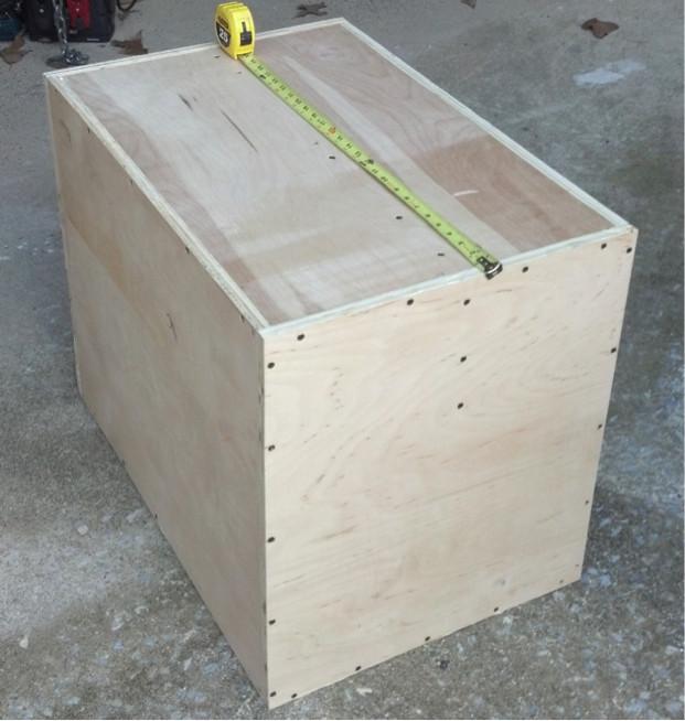 DIY Plyometric Box  How to Build a nother Plyometric Box