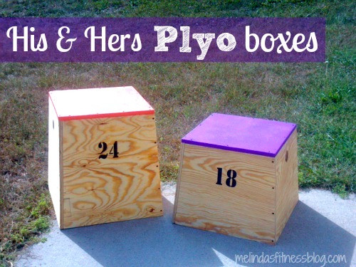 DIY Plyometric Box  DIY Plyo Box His & Hers