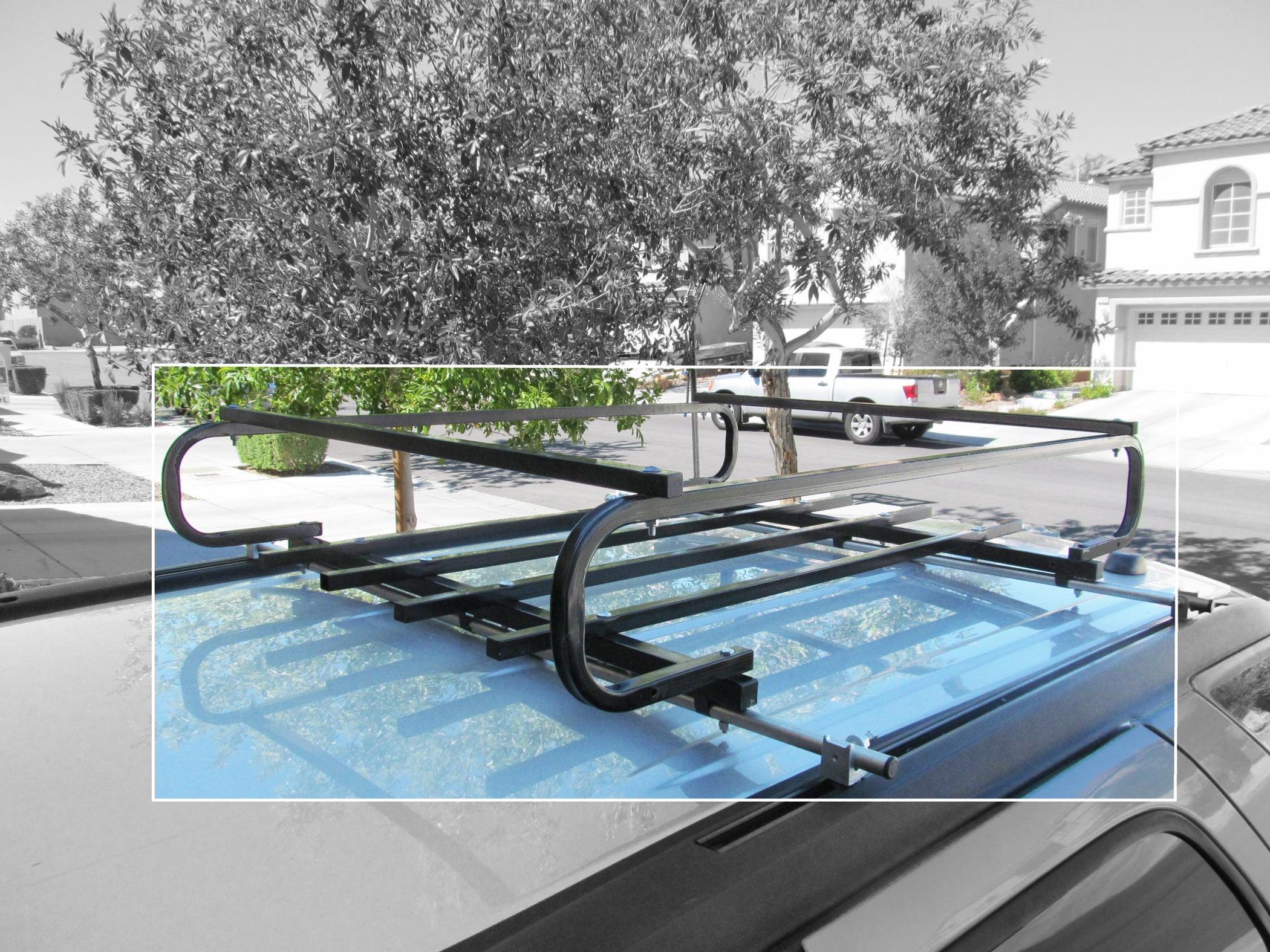 DIY Roof Rack  DIY Roof Rack Cross Bars 5 Steps with