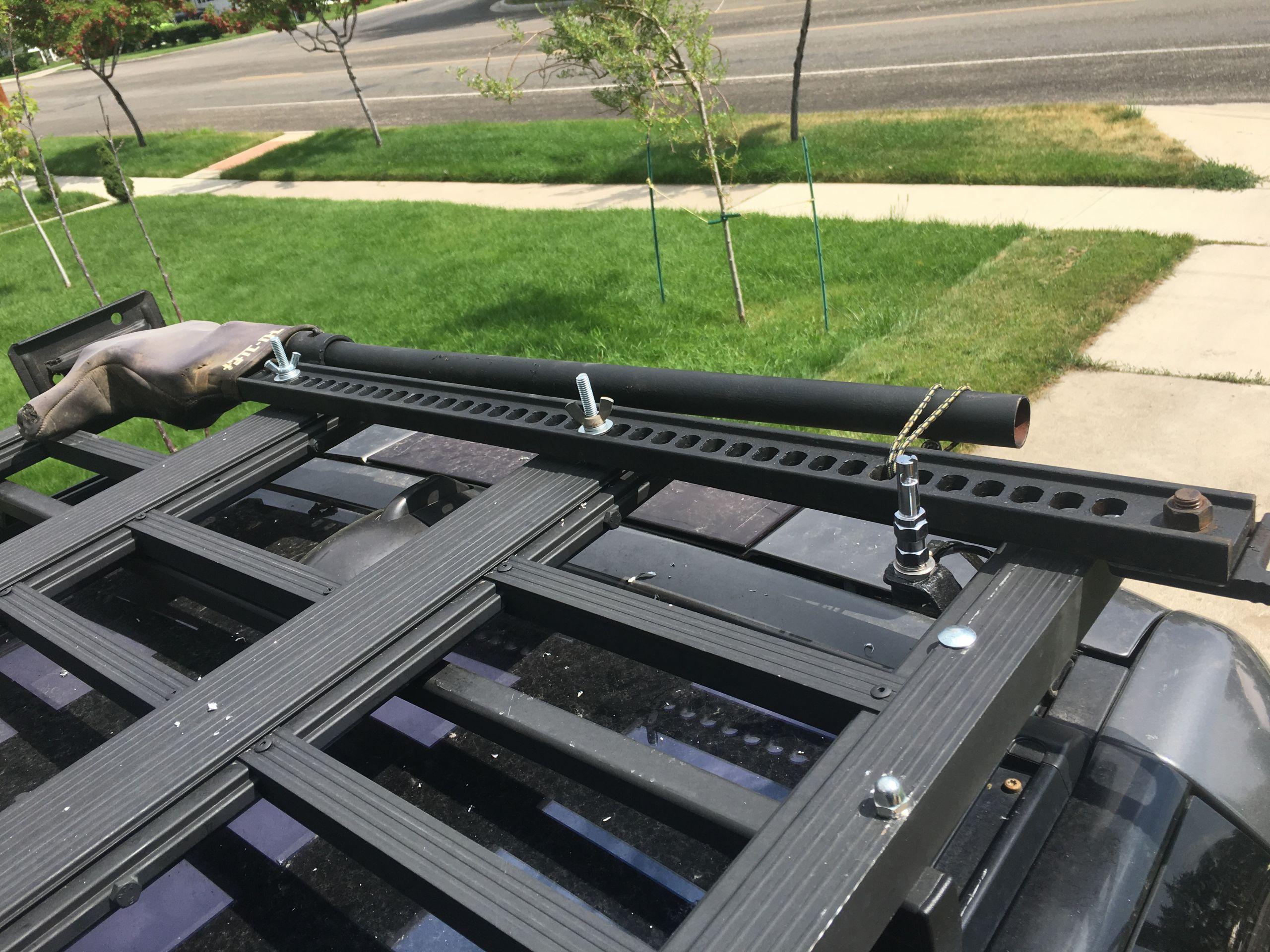 DIY Roof Rack  DIY Frontrunner style roof rack Land Rover Forums Land