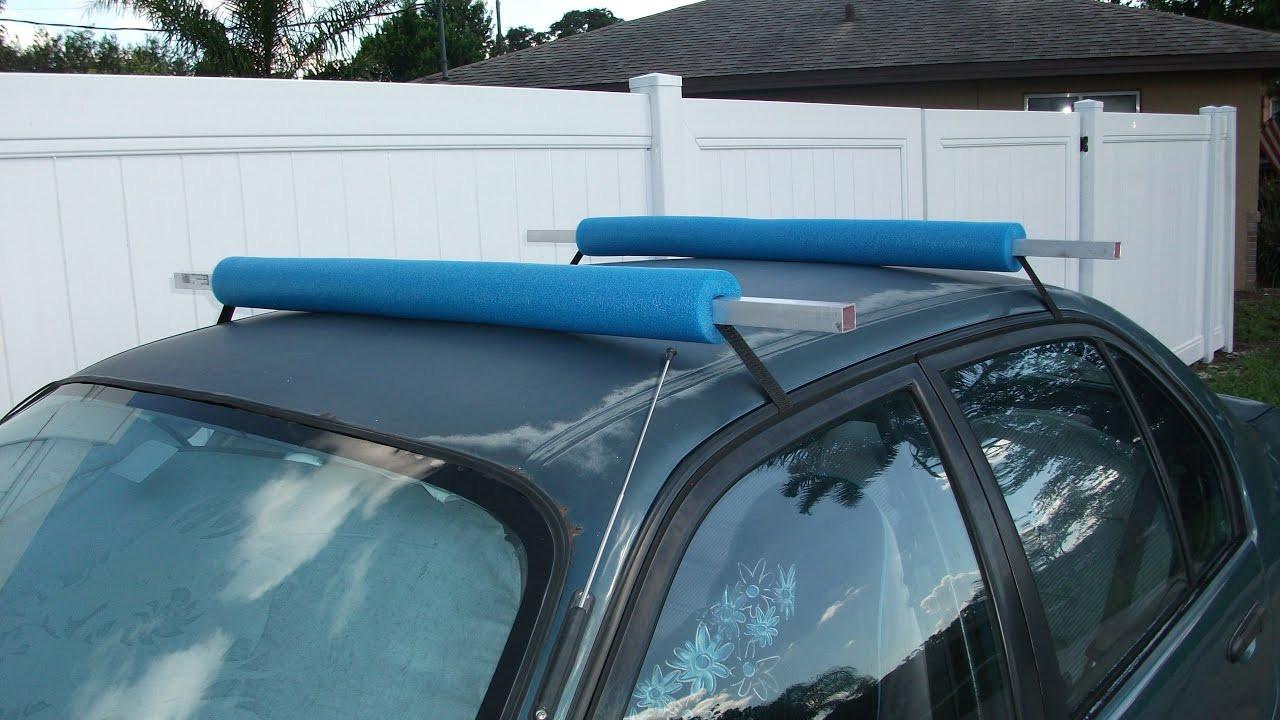 DIY Roof Rack  Simple DIY Roof Rack Florida Fish Hunter