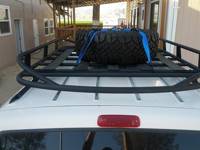 DIY Roof Rack  DIY Roof Rack Tire Carrier Jeep Cherokee Forum