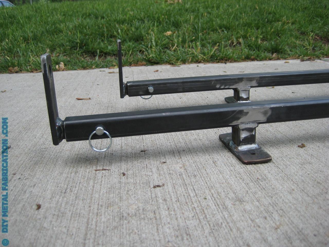 DIY Roof Rack  How to Build – SUV Ladder Roof Rack – DIY METAL