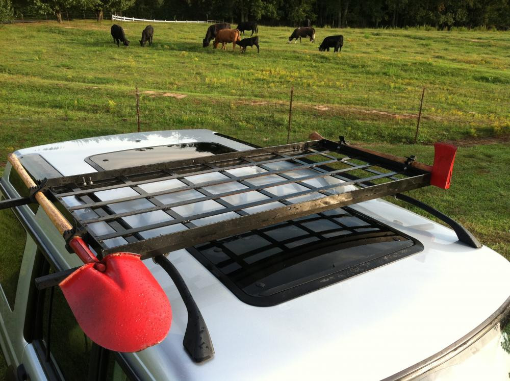 DIY Roof Rack  DIY Projects Land Rover Forums Land Rover and Range