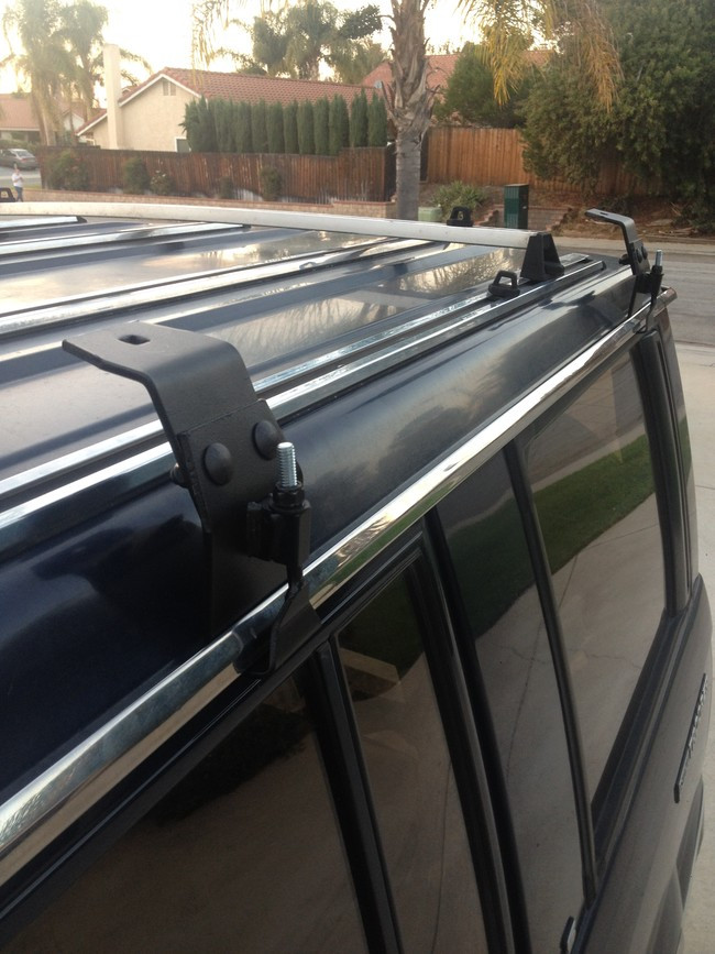 DIY Roof Rack  DIY Rooftop Camper Made From The Simplest Materials