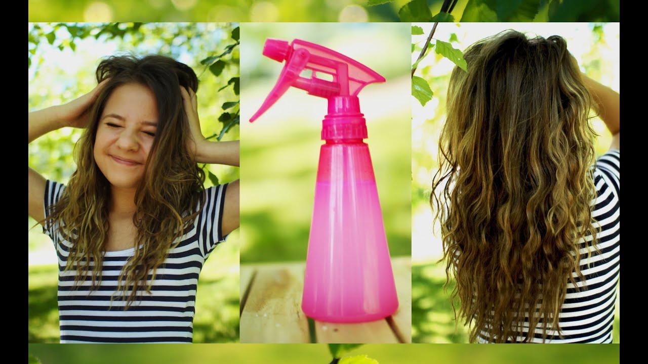 DIY Sea Salt Spray For Hair  Heatless beachy waves DIY sea salt hair spray
