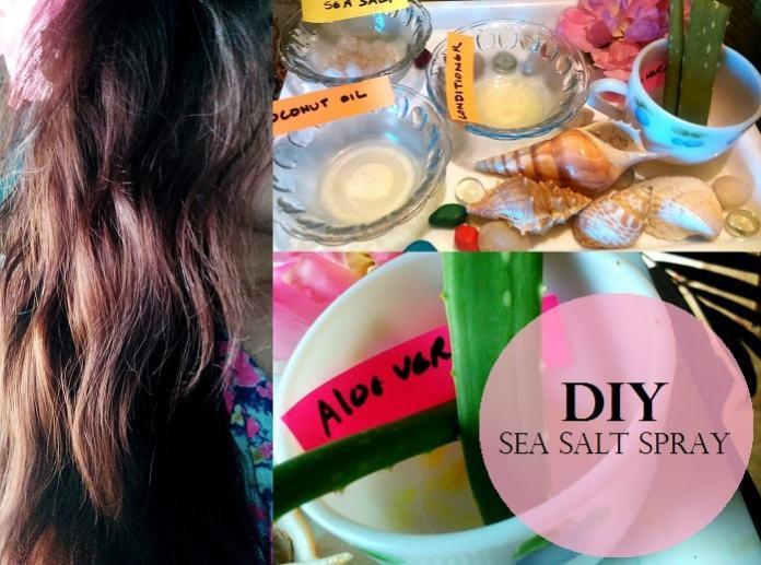DIY Sea Salt Spray For Hair  How to Make DIY Sea Salt Spray for Beach Hair at Home