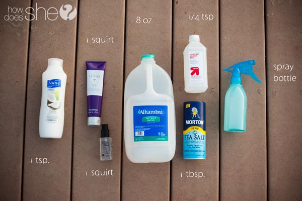 DIY Sea Salt Spray For Hair  Sea Salt Spray DIY