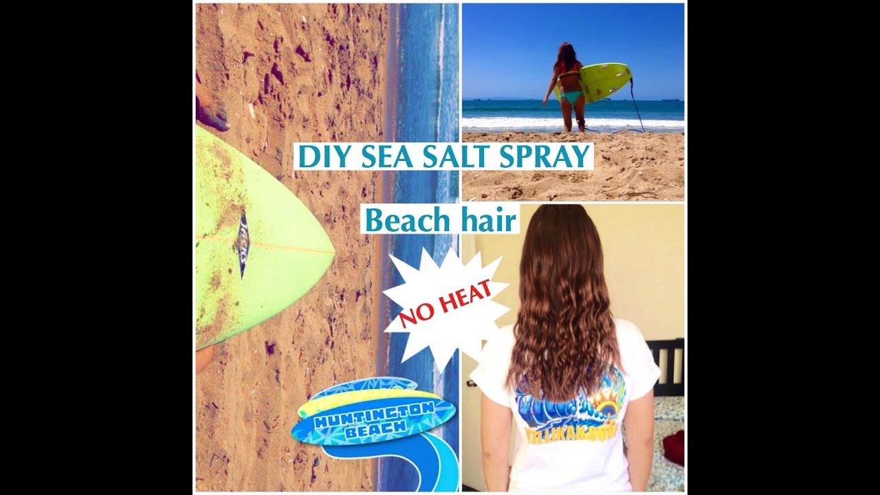 DIY Sea Salt Spray For Hair  DIY sea salt spray