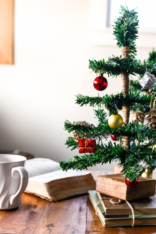 DIY Tabletop Christmas Tree  DIY Mini Tabletop Christmas Tree The Weathered Fox