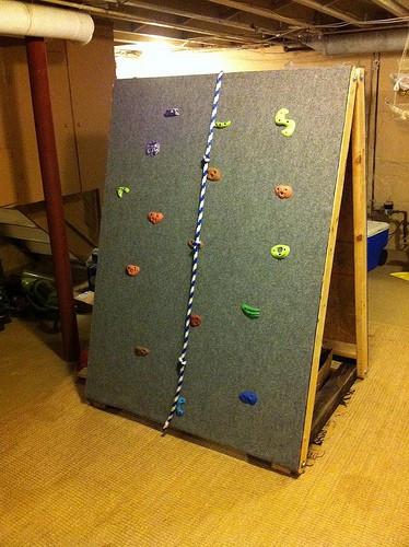 DIY Toddler Climbing Wall  14 Genius DIY Climbing Spaces for Kids Indoor Play Fun