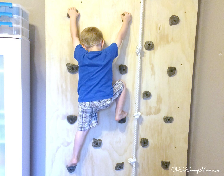 DIY Toddler Climbing Wall  How to build a DIY Kids Climbing Wall Easy to Follow