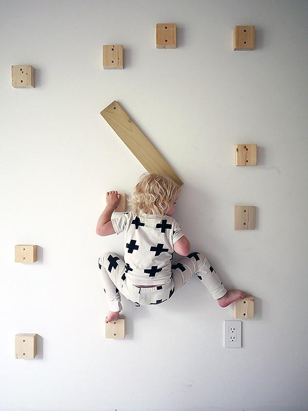 DIY Toddler Climbing Wall  Our DIY Rock Climbing Wall Design For Mankind