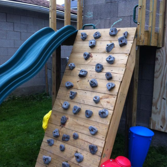 DIY Toddler Climbing Wall  17 Best images about For the Kids on Pinterest