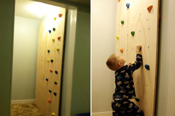 DIY Toddler Climbing Wall  DIY Kid s Climbing Wall At Home with Kim Vallee