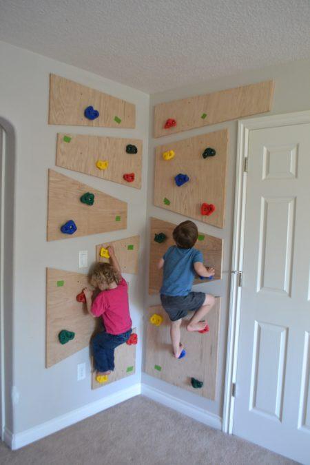DIY Toddler Climbing Wall  Do It Yourself Climbing Wall The Created Home