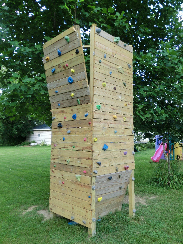 DIY Toddler Climbing Wall  20 DIY Rock Climbing Walls to Bring the Mountains Closer