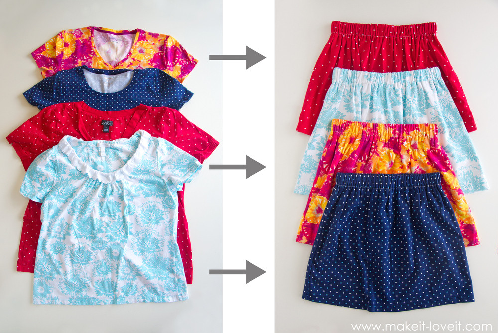 DIY Toddler Clothes  Turn Adult Shirts Into Kids Clothes 5 Ways diy Thought