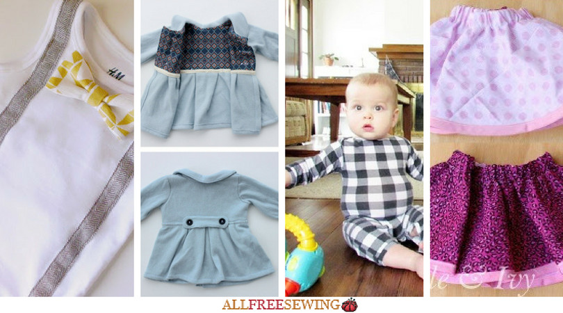 DIY Toddler Clothes  Sewing for Baby 18 DIY Baby Clothes