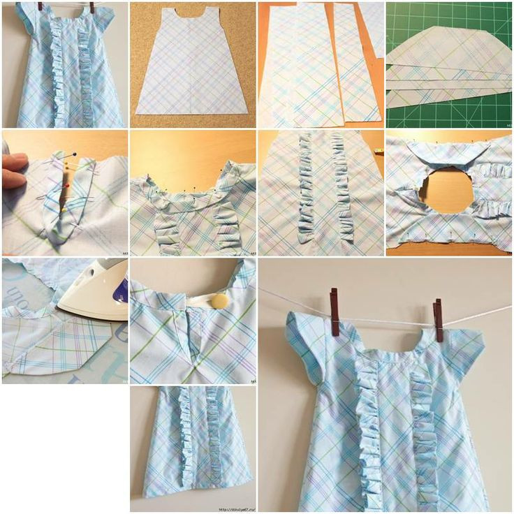 DIY Toddler Clothes  73 best Baby dress tutorial images on Pinterest