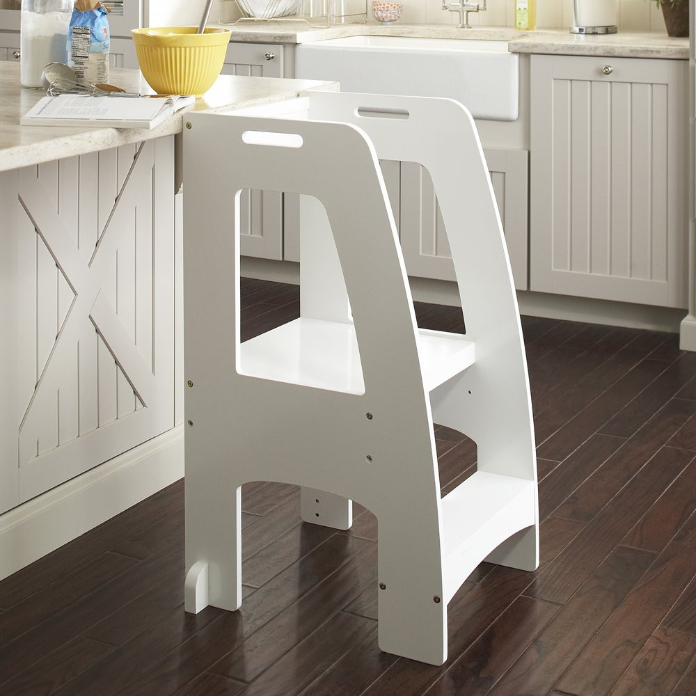 DIY Toddler Step Stool  How To Build A Kitchen Step Stool – Loccie Better Homes